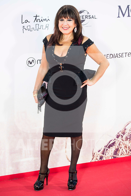 """XXX during the premiere of the spanish film """"Un Monstruo Viene a Verme"""" of J.A. Bayona at Teatro Real in Madrid. September 26, 2016. (ALTERPHOTOS/Borja B.Hojas)"""
