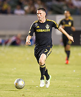 CARSON, CA - July 21, 2012: LA Galaxy forward Robbie Keane (7) during the LA Galaxy vs Chivas USA match at the Home Depot Center in Carson, California. Final score LA Galaxy 3, Chivas USA 1.