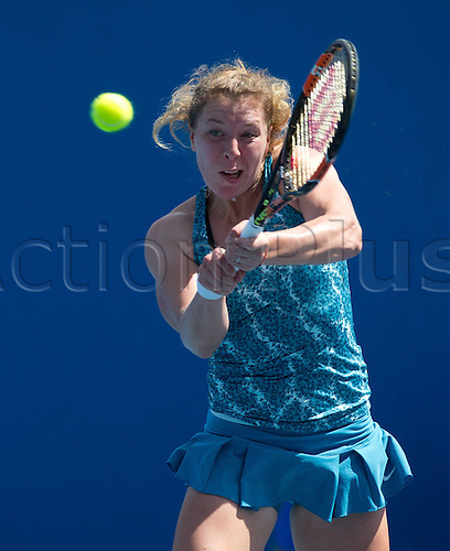 18.01.2016. Melbourne Park, Melbourne, Australia. Australian Open Tennis championships. Anna Lena Friedsam (ger) ladies singles