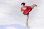 Zi Ye Li of China competes in Basic Novice Subgroup A Girls group during the Asian Open Figure Skating Trophy 2017 on August 02, 2017 in Hong Kong, China. Photo by Marcio Rodrigo Machado / Power Sport Images