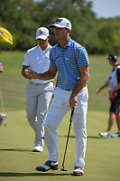 Billy Horschel (USA) after sinking his birdie putt on 8 during Round 1 of the Valero Texas Open, AT&amp;T Oaks Course, TPC San Antonio, San Antonio, Texas, USA. 4/19/2018.<br /> Picture: Golffile | Ken Murray<br /> <br /> <br /> All photo usage must carry mandatory copyright credit (&copy; Golffile | Ken Murray)