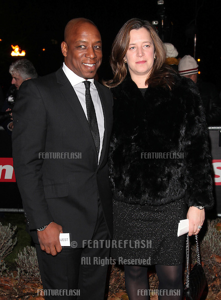 Ian Wright arriving for The Sun Military Awards, at The Imperial War Museum, London. 06/12/2012 Picture by: Alexandra Glen / Featureflash