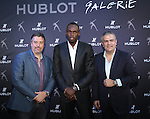 "Ricardo Guadalupe, Hublot CEO, hosts the Unveiling of Hublot Design District Boutique and a Special Charity Sprint with Brand Ambassador and ""The Fastest Person Ever"" USAIN BOLT Wearing the Ricardo Guadalupe, Hublot CEO, hosts the Unveiling of Hublot Design District Boutique and a Special Charity Sprint with  Brand Ambassador and ""The Fastest Person Ever"" USAIN BOLT Wearing King Power<br />
