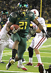 10/02/10-- Oregon's Stanford 's at Autzen Stadium in Eugene, Or.Photo by Jaime Valdez......