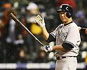 Hiroki Kuroda (Yankees),.MAY 7, 2013 - MLB :.Hiroki Kuroda of the New York Yankees at bat during the baseball game against the Colorado Rockies at Coors Field in Denver, Colorado, United States. (Photo by AFLO)