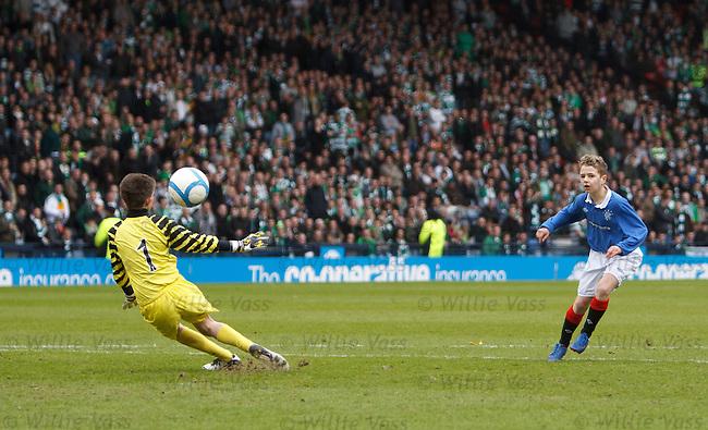 Half-time penalty shootout