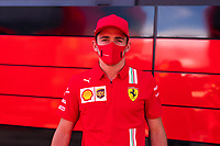 30th July 2020, Silverstone, Northampton, UK;  FIA Formula One World Championship 2020, Grand Prix of Great Britain, Charles Leclerc MCO, Scuderia Ferrari Mission Winnow