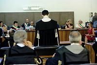 Roma, 17 Luglio 2018<br /> Ilaria Cucchi testimonia.<br /> Processo Cucchi Bis contro 5 Carabinieri accusati della morte di Stefano Cucchi