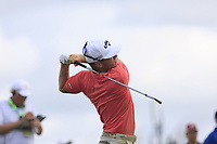 Talor Gooch (USA) tees off the par3 6th tee during Saturday's Round 3 of the 117th U.S. Open Championship 2017 held at Erin Hills, Erin, Wisconsin, USA. 17th June 2017.<br /> Picture: Eoin Clarke | Golffile<br /> <br /> <br /> All photos usage must carry mandatory copyright credit (&copy; Golffile | Eoin Clarke)