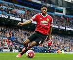 Marcus Rashford of Manchester United during the Barclays Premier League match at The Etihad Stadium. Photo credit should read: Simon Bellis/Sportimage
