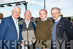 Des Grace, Michael Carmody Harry Laide and Tim Slattery, Tralee, pictured at the Kingdom Greyhound Stadium, Tralee, GAA Night of Champions on Friday night last.
