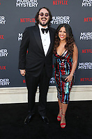 LOS ANGELES, CA - JUNE 10: Kyle Newacheck, Marisa Newacheck, at the Los Angeles Premiere Screening of Murder Mystery at Regency Village Theatre in Los Angeles, California on June 10, 2019. <br /> CAP/MPIFS<br /> ©MPIFS/Capital Pictures