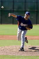 Andrew Doyle - Texas Rangers 2009 Instructional League.Photo by:  Bill Mitchell/Four Seam Images..