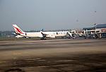 Sri Lankan Airways plane, Bandaranayake International Airport, Colombo, Sri Lanka, Asia