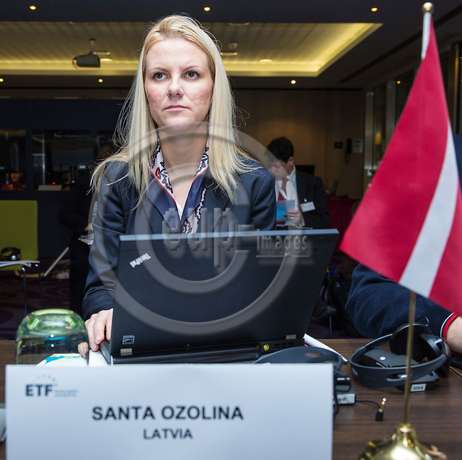 BRUSSELS - BELGIUM - 25 November 2016 -- European Training Foundation (ETF) Governing Board meeting. -- Santa Ozolina, Counsellor for Education, Youth and Sports Ministry of Education and Science - Permanent Representation of Latvia to the EU. -- PHOTO: Juha ROININEN / EUP-IMAGES