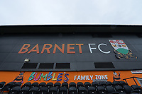The Hive Barnet FC during Barnet vs Woking, Vanarama National League Football at the Hive Stadium on 12th October 2019
