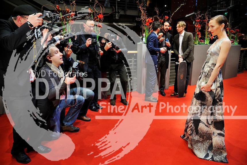 Katharina Schuettler bei der Eröffnungsfeier der Berlinale 2015 / 65. Internationale Filmfestspiele Berlin, 05.02.2015