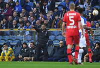 27th February 2020; Dragao Stadium, Porto, Portugal; UEFA Europa League  FC Porto versus Bayer Leverkusen; FC Porto manager Sergio Conceicao sends in instructions to his team