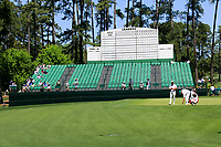 Thorbjorn Olesen (DEN) on the 15th green during Wednesdays preview at the The Masters , Augusta National, Augusta, Georgia, USA. 10/04/2019.<br /> Picture Fran Caffrey / Golffile.ie<br /> <br /> All photo usage must carry mandatory copyright credit (&copy; Golffile | Fran Caffrey)