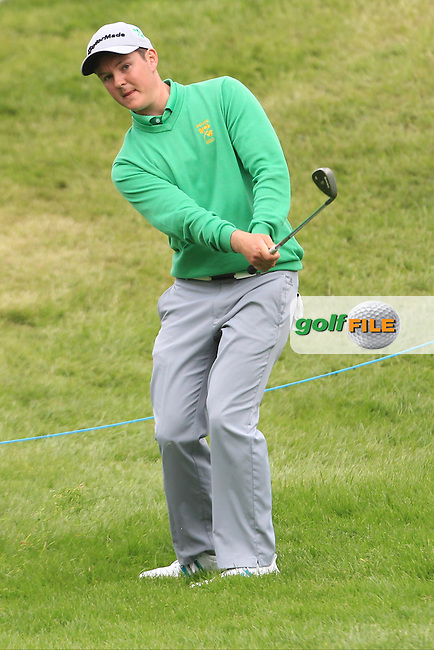 John Ross Galbraith (AM)(IRL) during Thursday's Round 1 ahead of the 2016 Dubai Duty Free Irish Open Hosted by The Rory Foundation which is played at the K Club Golf Resort, Straffan, Co. Kildare, Ireland. 19/05/2016. Picture Golffile | TJ Caffrey.<br /> <br /> All photo usage must display a mandatory copyright credit as: &copy; Golffile | TJ Caffrey.