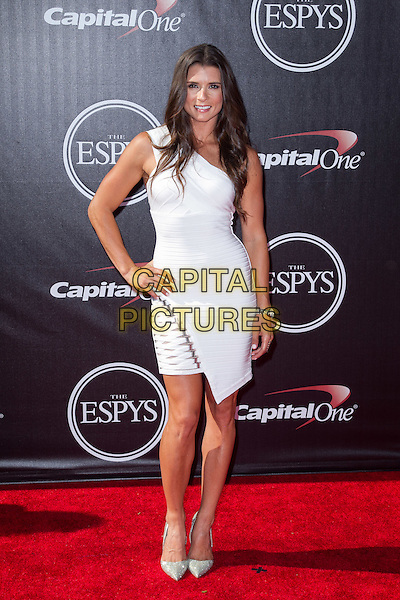LOS ANGELES, CA - JULY 16: Danica Patrick at the 2014 ESPYs at Nokia Theatre L.A. Live in Los Angeles, California on July 16th, 2014.   <br /> CAP/MPI/mpi99<br /> &copy;mpi99/MediaPunch/Capital Pictures