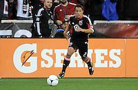D.C. United midfielder Danny Cruz (2)  D.C. United defeated The Houston Dynamo 3-2 at RFK Stadium, Saturday April 28, 2012.