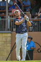 Martin Kaymer (GER) watches his tee shot on 16 during day 2 of the Valero Texas Open, at the TPC San Antonio Oaks Course, San Antonio, Texas, USA. 4/5/2019.<br /> Picture: Golffile | Ken Murray<br /> <br /> <br /> All photo usage must carry mandatory copyright credit (© Golffile | Ken Murray)