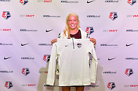 Los Angeles, CA - Thursday January 12, 2017: Jane Campbell during the 2017 NWSL College Draft at JW Marriott Hotel.