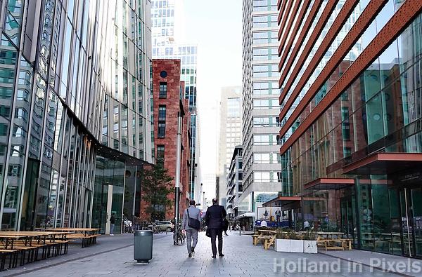 Nederland Amsterdam - September 2018 . De Zuidas. Claude Debussylaan. . Foto Berlinda van Dam / Hollandse Hoogte