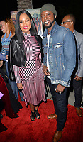 LOS ANGELES, CA- FEB. 08: Garcelle Beauvais, Richard Leacock at the 2018 Pan African Film & Arts Festival at the Cinemark Baldwin Hills 15 in Los Angeles, California on Feburary 8, 2018 Credit: Koi Sojer/ Snap'N U Photos / Media Punch