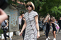 Anna Wintour, artistic director of Condé Nast, arriving at Fendi fashion show during the annual Milan Fashion Week, Milan September 22, 2016.