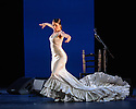 London, UK. 28.02.2016. Sadler's Wells presents Esperanza Fernandez in DE LO JONDO Y VERDADERO, as part of the Flamenco Festival London 2016. Picture shows: Ana Morales. Photograph © Jane Hobson.