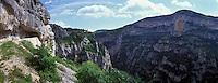 Europe/France/Provence-Alpes-Cote d'Azur/84/Vaucluse/ Gorges de la Nesque