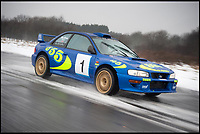 Birth of a legend - Subaru Impreza rally car for sale.