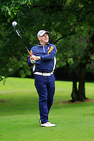 Edward Ryan (Lucan) on the 3rd tee during round 1 of The Mullingar Scratch Cup in Mullingar Golf Club on Sunday 3rd August 2014.<br /> Picture:  Thos Caffrey / www.golffile.ie