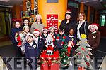 Preparing for this year's craft fair on Sunday December 10th are pupils, parents and staff from Gaelscoil Mhic Easmainn. Pictured were: John Ó Muineacháin, Aoife Ní Chúipéir, Róisin Ní Chantual, Elsie Peig Nic Ruairí, Helen Uí Chúipéir, Maria Ní Dhubhlainn, Tommy Ó Muineacháin, Conor Ó Muineacháin, James Ó Déadaigh, Sennait Forster, Orla Buitiméir, Annmarie Níc Ruairí and Cáit Uí Chonchúir (Principal).