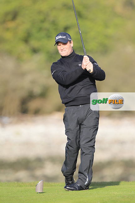 Mark Ford (Cork) on the 4th tee during Round 1 of the Munster Stroke Play Championship at Cork Golf Club on Saturday 30th April 2016.<br /> Picture:  Thos Caffrey / www.golffile.ie