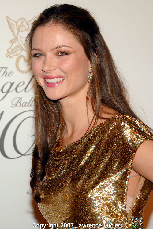 Designer Georgina Chapman arrives for the G&P Foundation's Angel Ball October 29, 2007, at the Marriott Marquis in New York City.. (Pictured : GEORGINA CHAPMAN).