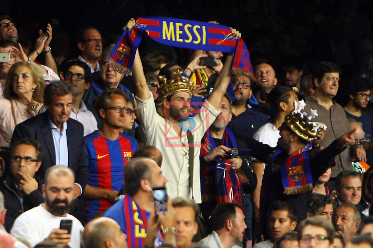League Santander 2016/2017. Game: 5.<br /> FC Barcelona vs Atletico de Madrid: 1-1.