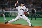 Tomoyuki Sugano (JPN), <br /> MARCH 14, 2017 - WBC : 2017 World Baseball Classic Second Round Pool E Game between Japan 8-5 Cuba at Tokyo Dome in Tokyo, Japan. <br /> (Photo by Sho Tamura/AFLO SPORT)