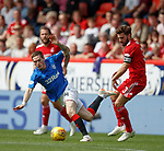 05.08.18 Aberdeen v Rangers: Ryan Kent and Graeme Shinnie