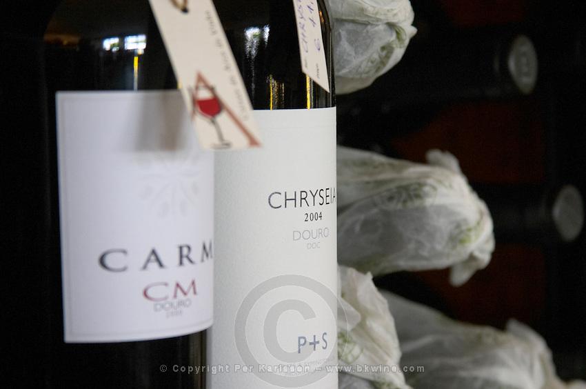 Wine shop. Chryseia 2004 Douro. Prats & Symington. Lisbon, Portugal