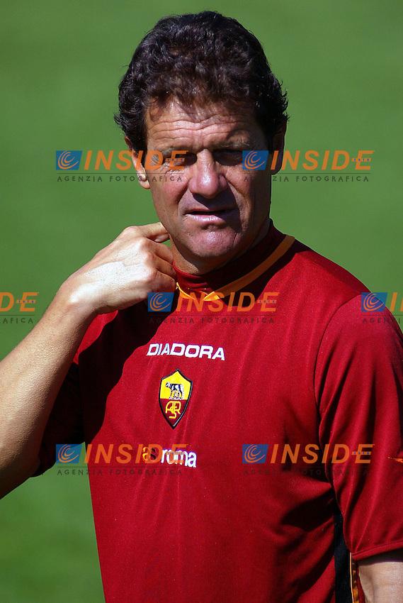 Irdning July 2003<br /> Fabio Capello, Roma's trainer<br /> <br /> Fabio Capello<br /> <br /> Foto Insidefoto/Spg