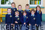 Junior Infants from Lough Quittane NS Killarney on Monday (Principal has a no name policy)