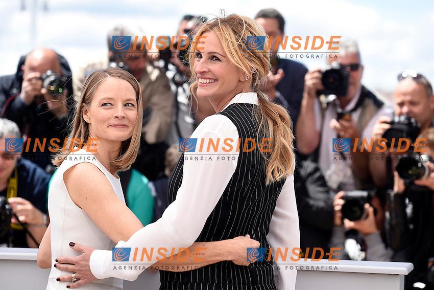Jodie Foster - Julia Roberts <br /> Festival di Cannes 2016 <br /> Foto Panoramic / Insidefoto