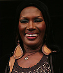 Grace Jones appears in person after a screening of her film 'Grace Jones: Floodlight and Bami' directed by Sophie Fiennes at the Walter Reade Theatre on April 14, 2018 in New York City
