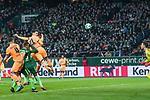 13.01.2018, Weser Stadion, Bremen, GER, 1.FBL, Werder Bremen vs TSG 1899 Hoffenheim, im Bild<br /> <br /> 0 zu 1 Benjamin H&uuml;bner / Huebner (1899 Hoffenheim #21) per Kopfball gegen Jiri Pavlenka (Werder Bremen #1)<br /> Foto &copy; nordphoto / Kokenge