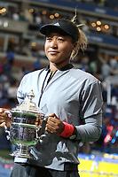 Naomi Okaka<br /> US Open Tennis 9-8-2018<br /> Photo by John Barrett/PHOTOlink