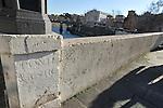Pons Cestius (Ponte Cestio), Roman stone bridge over the river Tiber, connecting  Tiber Island to Trastevere in Rome, Italy.