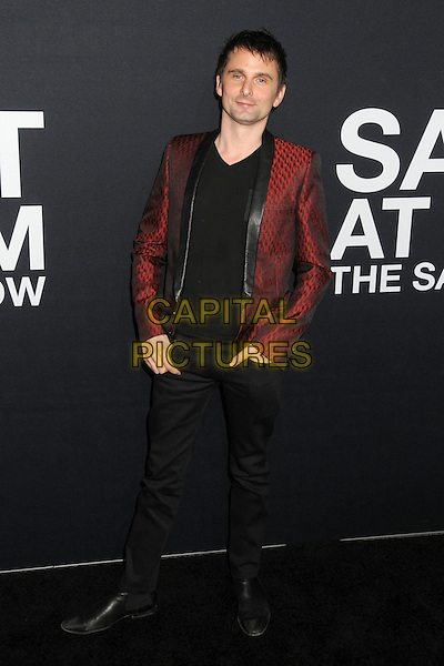 10 February 2016 - Los Angeles, California - Matt Bellamy. Saint Laurent At The Palladium held at the Hollywood Palladium. <br /> CAP/ADM/BP<br /> &copy;BP/ADM/Capital Pictures